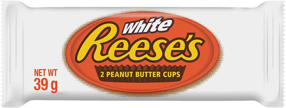 Reeses White 2 Peanut Butter Cups 39g