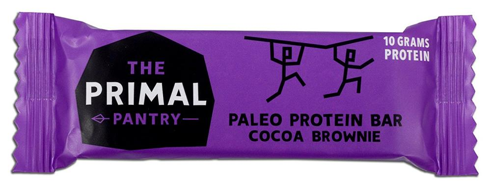The Primal Pantry Cocoa Brownie Paleo Protein Bar 55g
