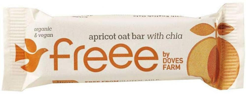 Doves Farm Freee Organic Apricot and Chia Seed Flapjack 35g