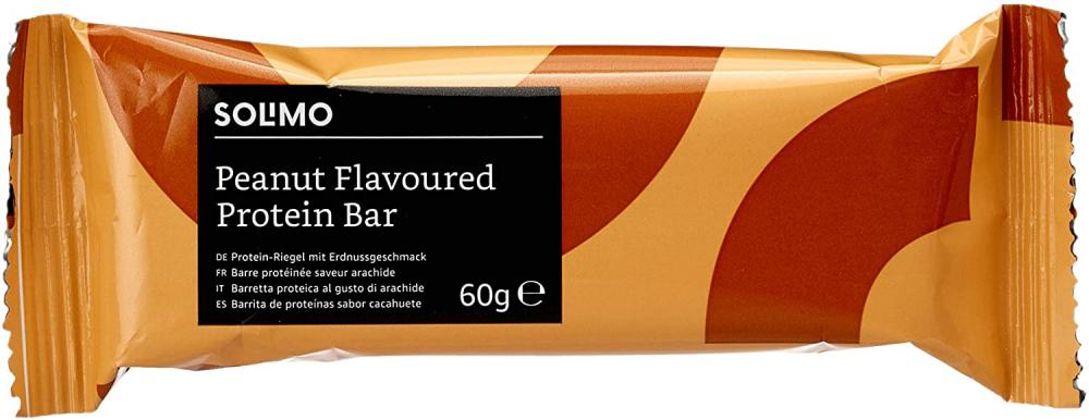 Solimo Peanut Flavoured Protein Bar 60g