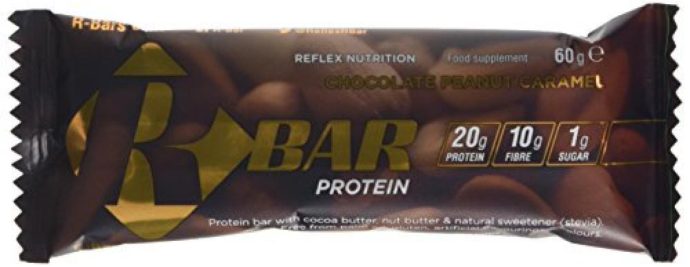 Reflex Nutrition RBar Protein Chocolate Peanut Caramel 60g