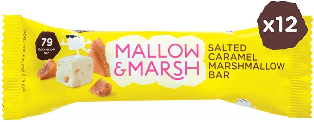 Mallow and Marsh Salted Caramel Marshmallow Bar 30g