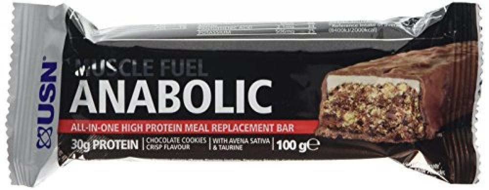 USN Muscle Fuel Anabolic Bar 100 g - Cookie and Crisp