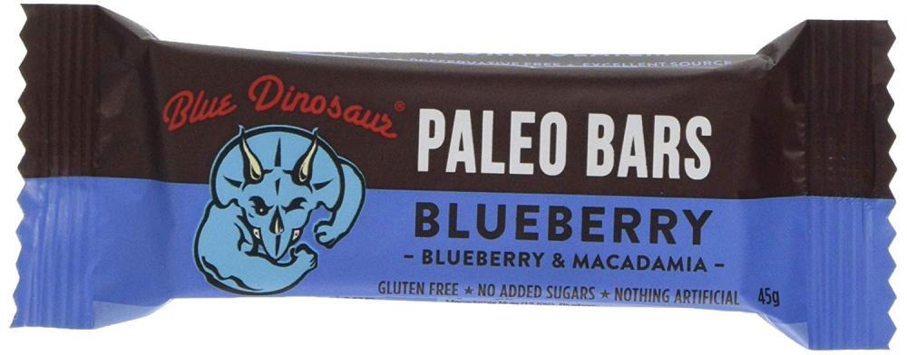 Blue Dinosaur Paleo Bar Blueberry 45 g