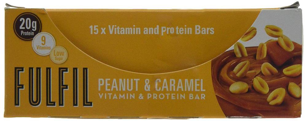 Fulfil Peanut and Caramel Vitamin and Protein Bar 55 g