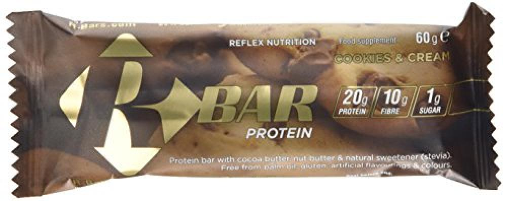 Reflex Nutrition RBar Protein - Cookies and Cream Flavour 60g