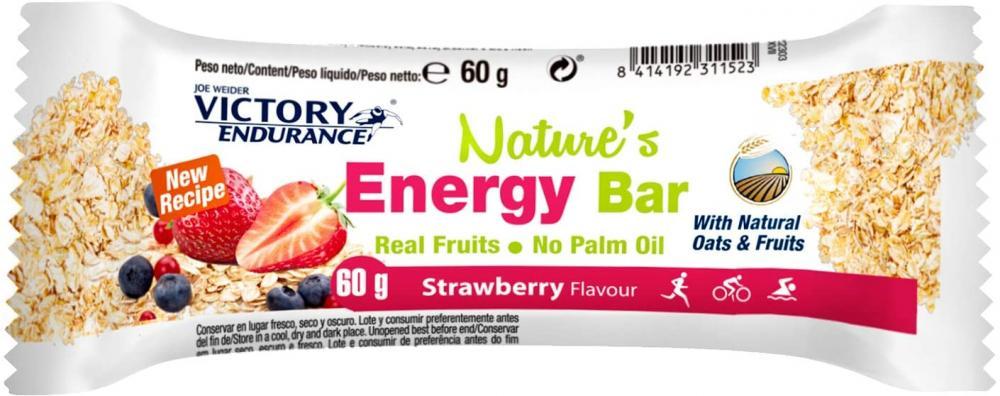 Weider Natures Energy Bar Strawberry 60g
