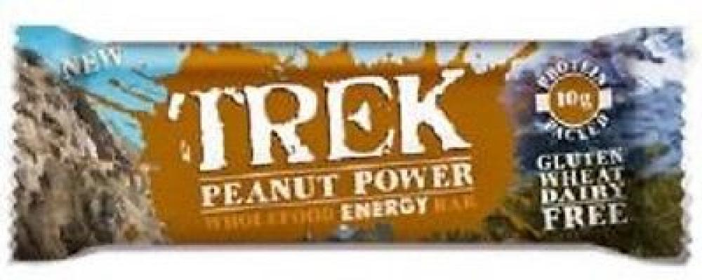 Trek Protein Energy Bar Peanut Power 55 g