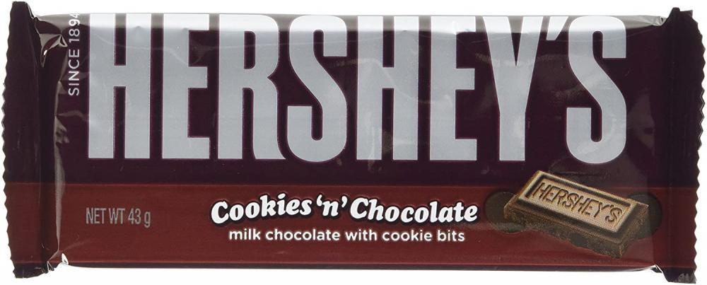 Hersheys Cookies and Chocolate Bar 40g