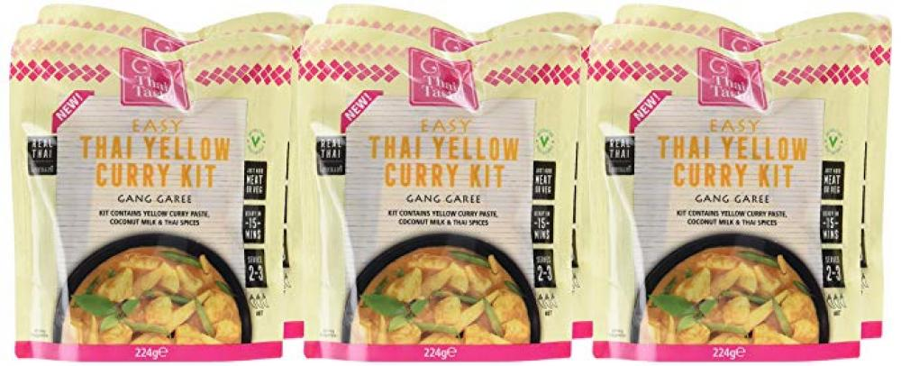 Thai Taste Easy Thai Yellow Curry Kit 224g
