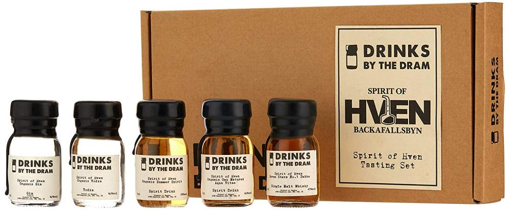 Drinks By The Dram Spirit of Hven Tasting Set 5x3cl