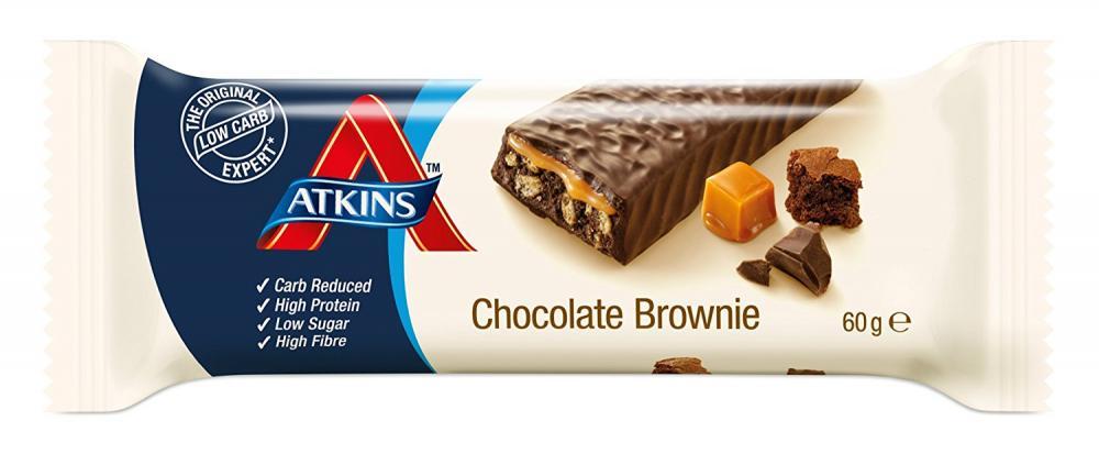 WEEKLY DEAL  Atkins Advantage Chocolate Brownie Bars 60 g