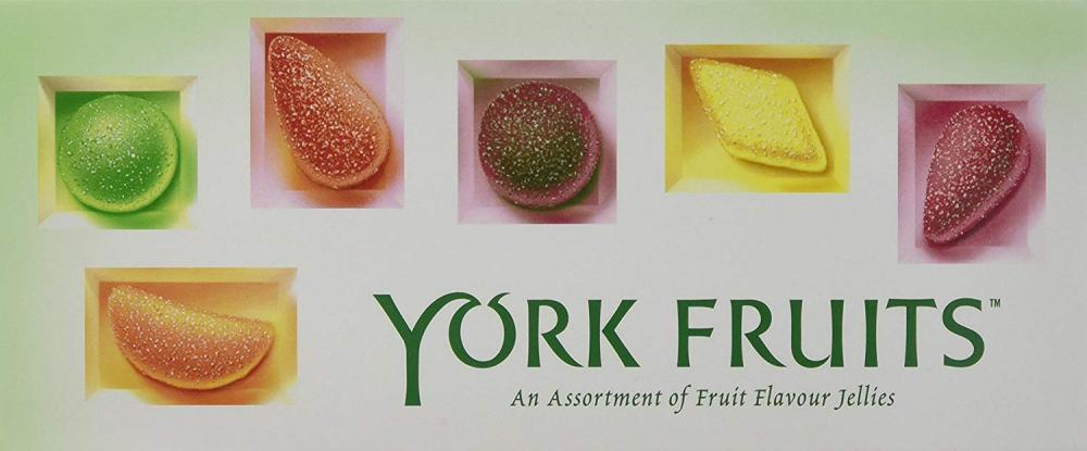 York Fruits Fruit Flavour Jellies 200g