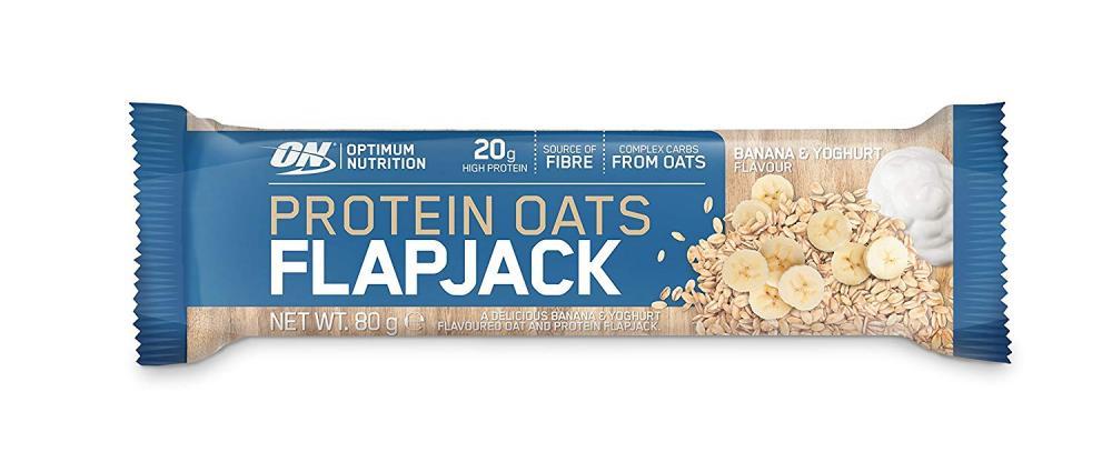 Optimum Nutrition Protein Oats Flapjack Bar Banana And Yoghurt 80g