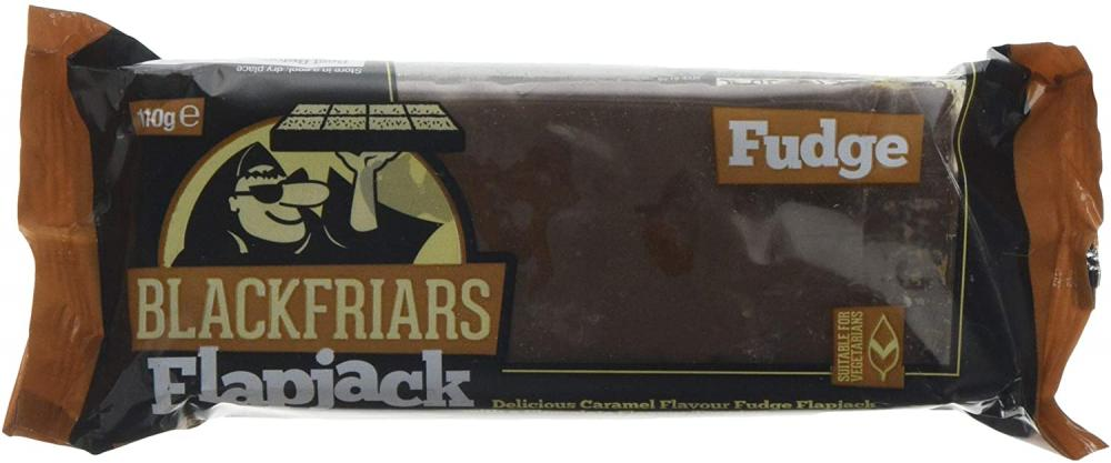 Blackfriars Flapjack Fudge With Caramel and Chocolate Flavour 110 g