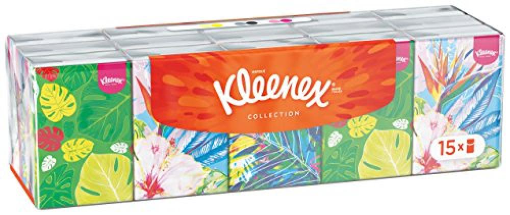 Kleenex Collection of Pocket Tissues Pack of 15