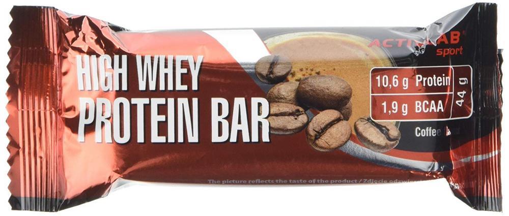 ACTIVLAB SPORT High Whey Protein Bar Coffee 44g