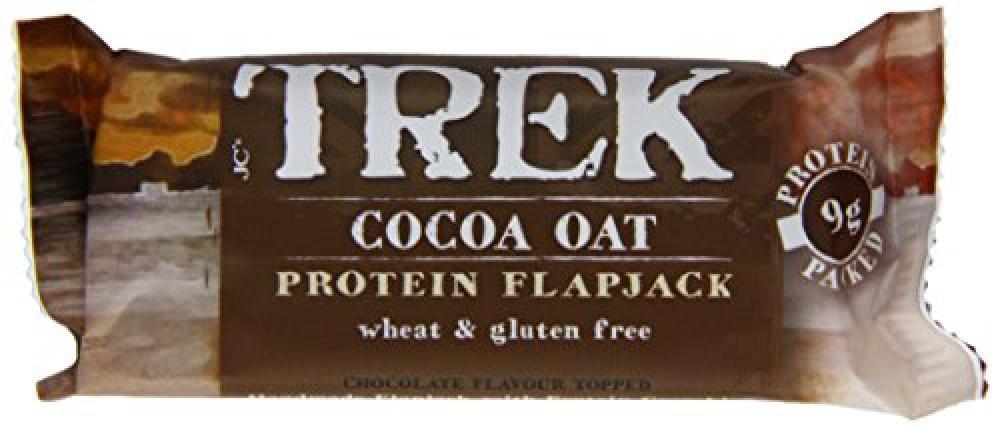 Trek Cocoa Oat Protein Flapjack 50g