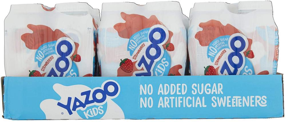 BLACK FRIDAY SPECIAL CASE PRICE  Yazoo Kids Milk Strawberry 24 x 200ml