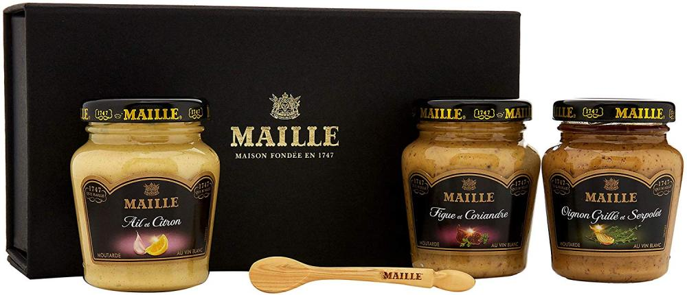 Maille Herb Gold Mustard Giftset
