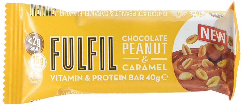 Fulfil Peanut and Caramel Vitamin and Protein Bar 40 g