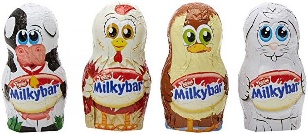 Nestle Milkybar Farmyard Minis 19.5g Various Colours