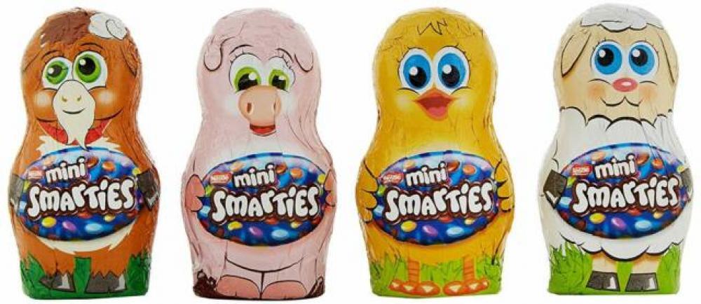 Nestle Smarties Mini Friends 21g Various Colours