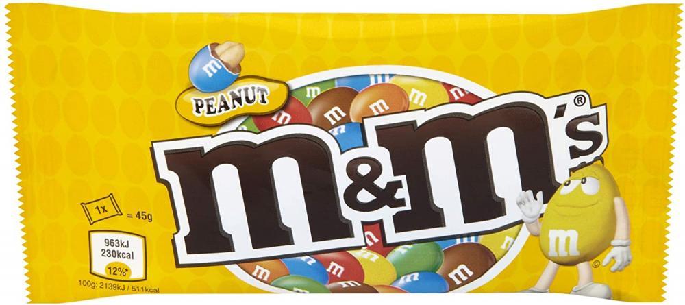 M and Ms Peanut 45 g