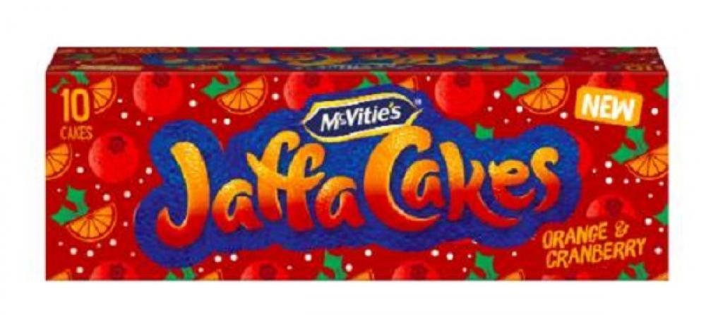 McVities Jaffa Cakes Orange And Cranberry 10pk