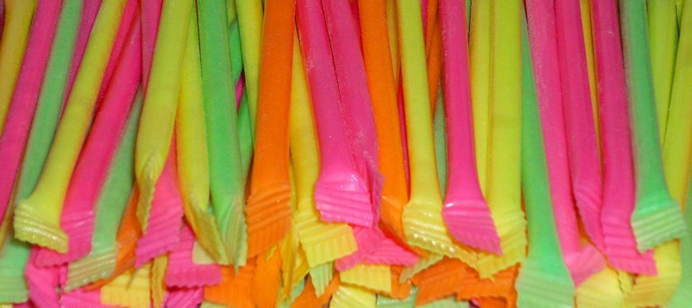 Swizzels Matlow Rainbow Dust Straws x50