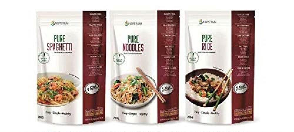 PurePasta Konjac Gluten Free Noodles LUCKY DIP 200g