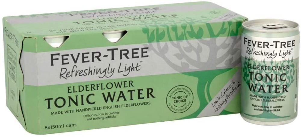 Fever Tree Elderflower Tonic Water 150 ml