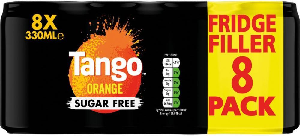 Tango Orange 8 x 330ml