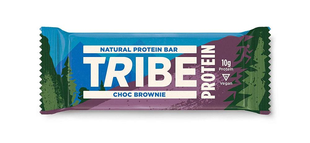 Tribe Natural Vegan Protein Bar Chocolate Brownie Flavour 50g