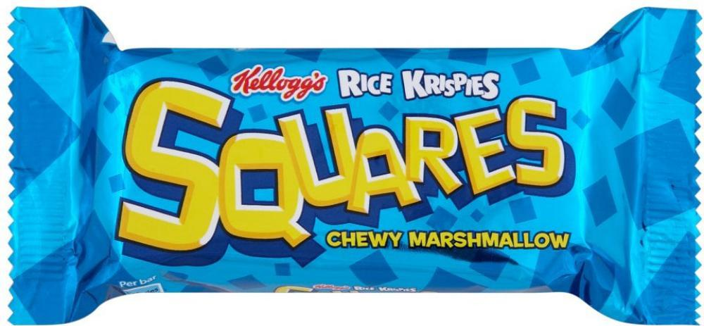 Kelloggs Rice Krispies Squares Chewy Marsmallow 28g