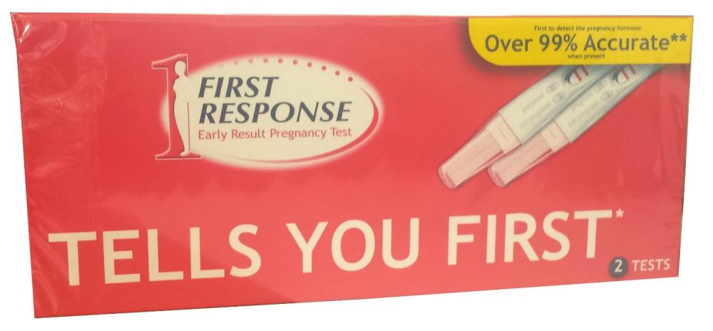 First Response Early Result Pregnancy Test 2 Tests