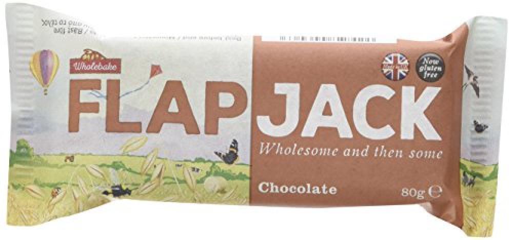 Wholebake FlapJack Chocolate 80g
