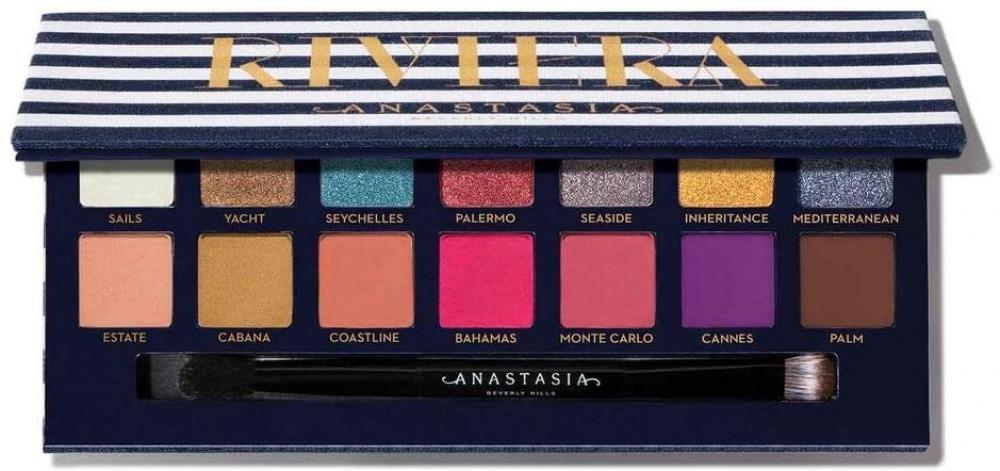 Anastasia Beverly Hills Eyeshadow Palette - Riviera Palette 14 Eye Shadows