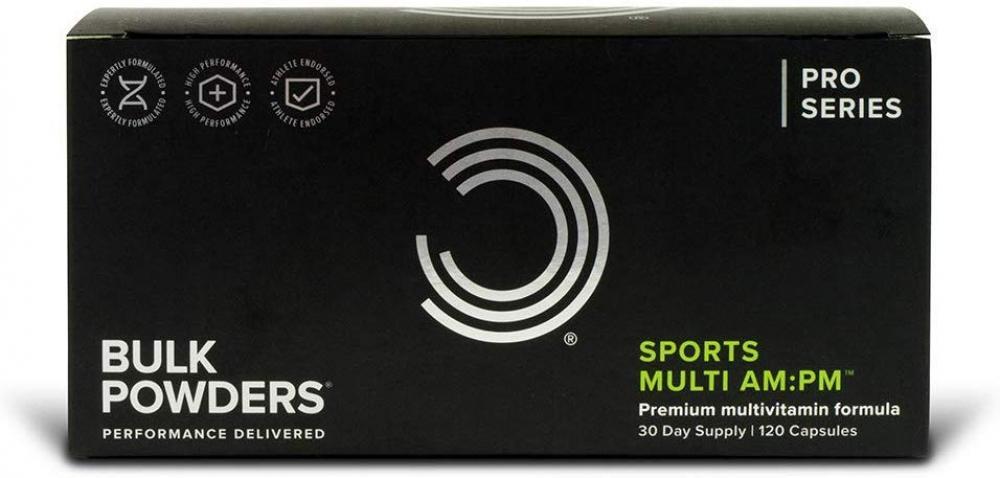 Bulk Powders Multivitamin Mineral Supplement for Men and Women 120 Capsules