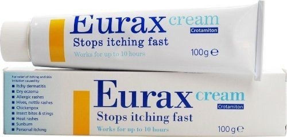 Eurax Cream 100g Damaged Box