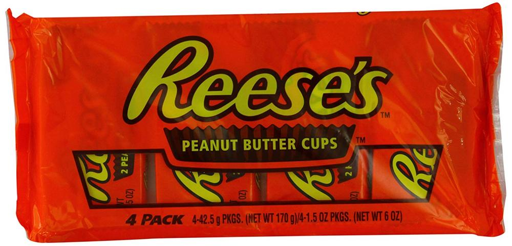 SALE  Reeses Peanut Butter Cup Multi-pack 4x42.5g