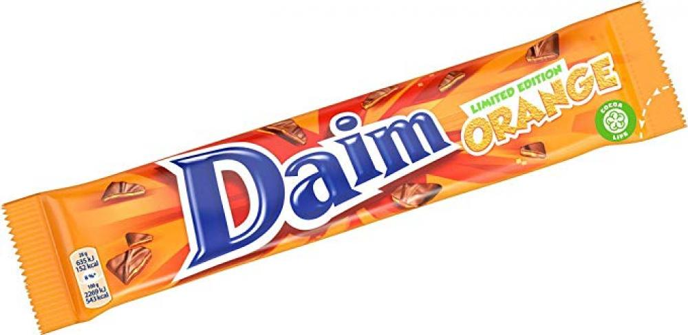 Daim Limited Edition Orange 56g