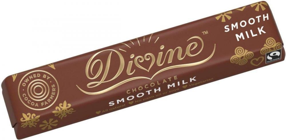 Divine Chocolate Smooth Milk Bar 35 g