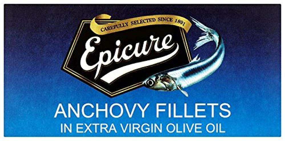 Epicure Anchovies in Extra Virgin Olive Oil 50 g