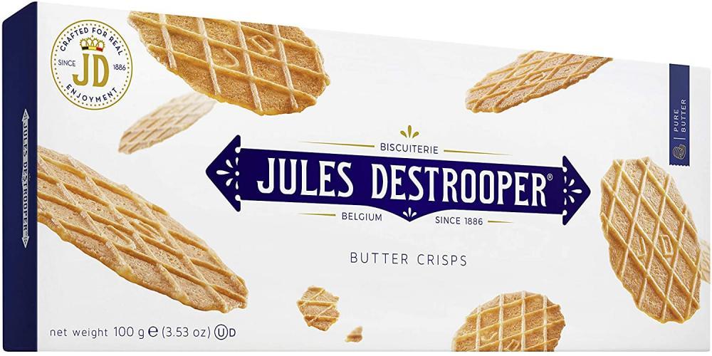 Jules Destrooper Biscuit Butter Crisps 100g