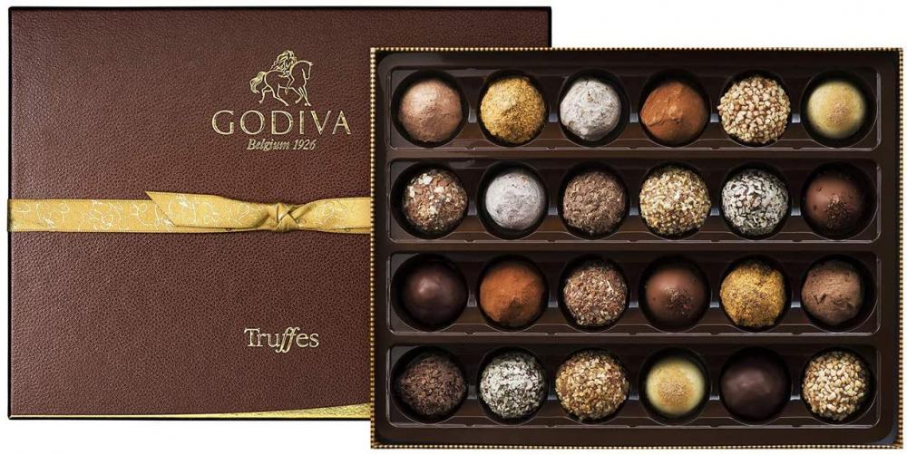 Godiva Signature Truffles Assortment 24 pieces