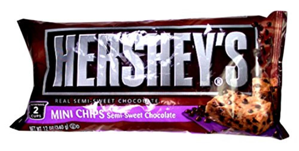 Hersheys Semi Sweet Baking Mini Chip 340g