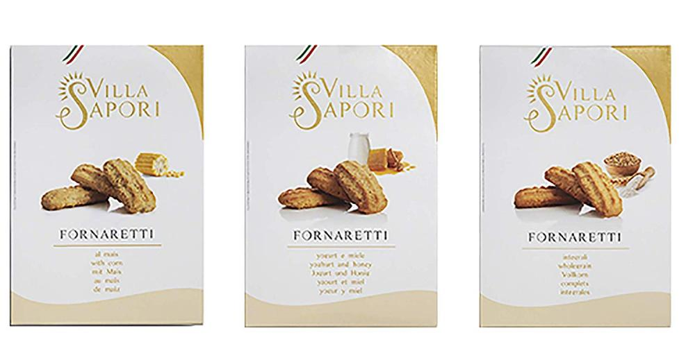 Villa Sapori Traditional Italian Biscuits with Assorted Flavors LUCKY DIP 150g