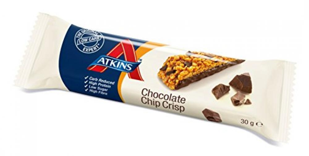 Atkins Chocolate Chip Crisp Bar 30g