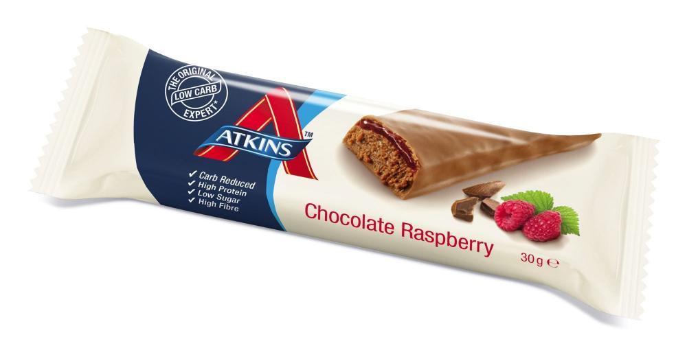Atkins Chocolate Raspberry Bar 30g